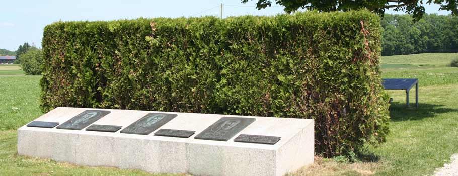 Das Denkmal in Hohenlinden
