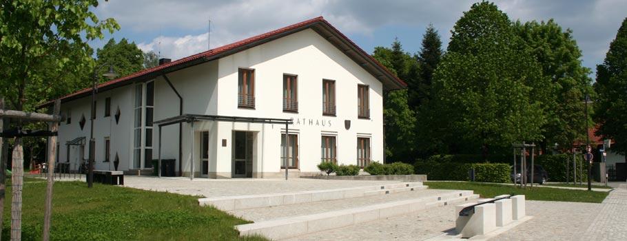 Das Rathaus in Hohenlinden