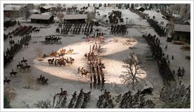 Die Schlacht als Diorama