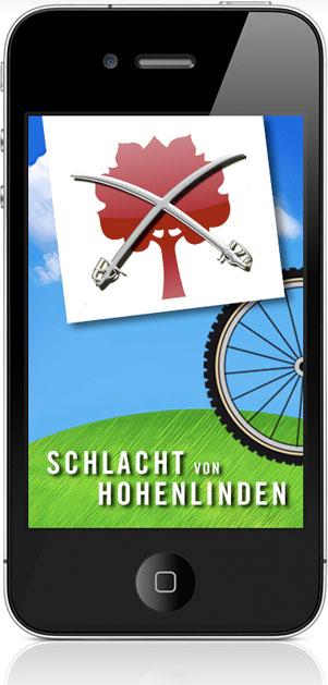 """Radtour-App """"Die Schlacht von Hohenlinden"""""""